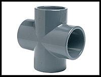 Крестовина для труб PVC (90 мм)