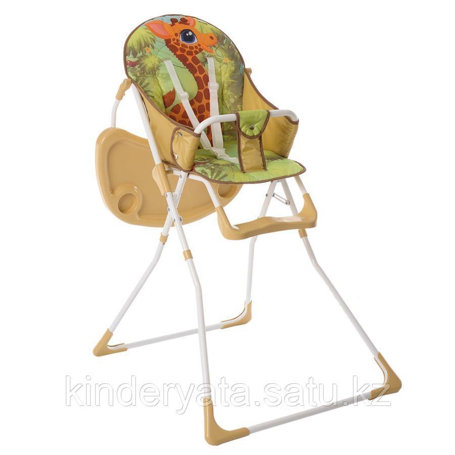 BamBola Стул для кормления с перекидной столешницей Жирафик