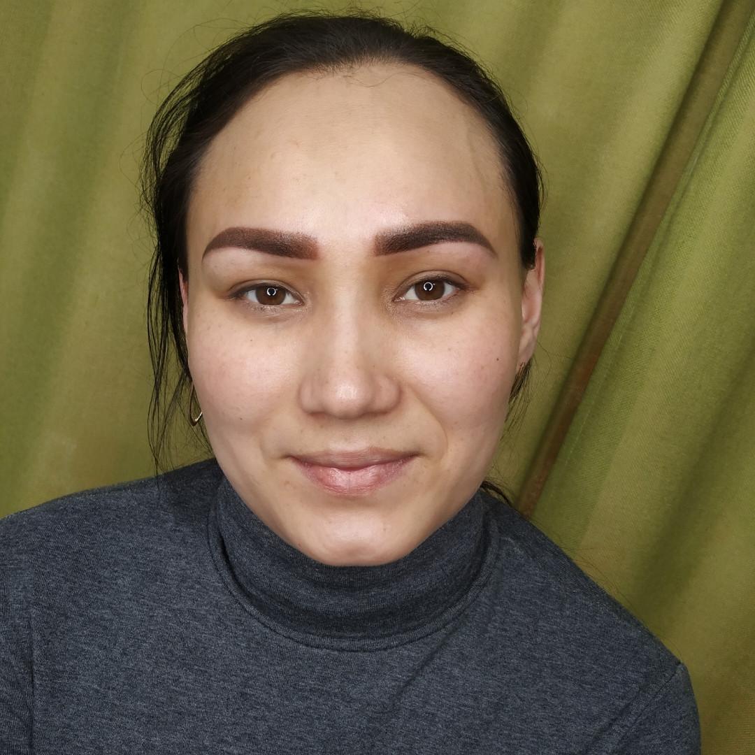 Перманентный макияж губы, брови, глаза - фото 4