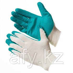 Перчатки прорезиненные 10 класс вязки