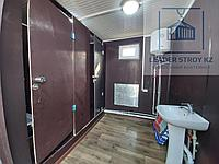Модульный туалет из 20 футового контейнера, фото 1