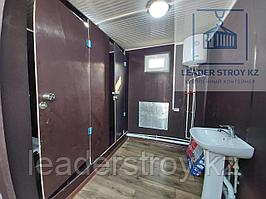 Модульный туалет из 20 футового контейнера