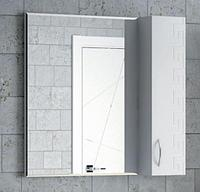 Зеркало-шкаф Corozo Koral Олимп 75 белый K507409