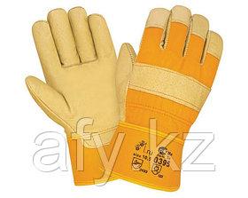 строительные кожаные рабочие перчатки