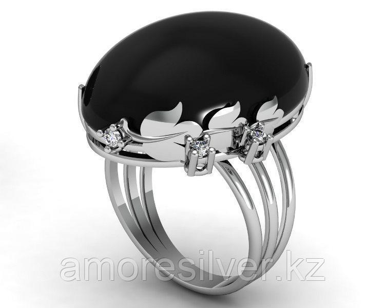 Кольцо Приволжский Ювелир серебро с родием 261013