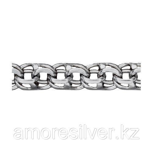 Браслет КУБАЧИ серебро с родием, бисмарк ручной 5409022р