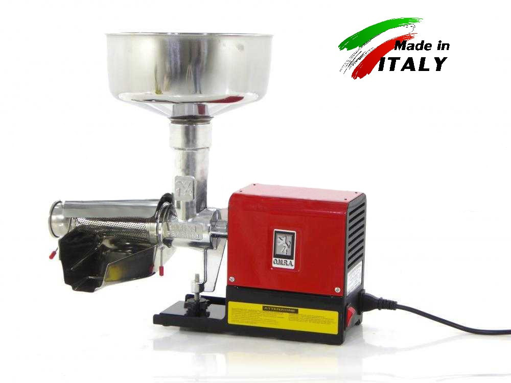NEW OMRA OM-2500-E MINIPROFESSIONAL N°3 (200 кг в час) электрическая соковыжималка для томатов, ягод, фруктов