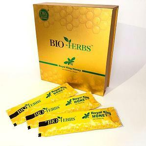 """Королевский мёд """"Bio Herbs"""", (1 пакетик - 30 грамм), Малайзия"""