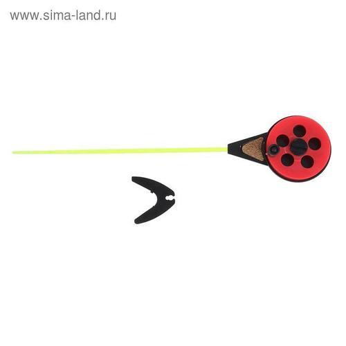 Удочка зимняя «Балалайка» УС-3, хлыст поликарбонат, цвет красный