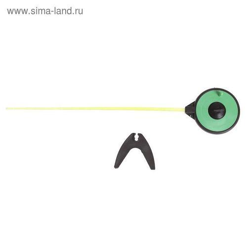 Удочка зимняя «Спортивная» УС-4, хлыст поликарбонат, цвет зелёный