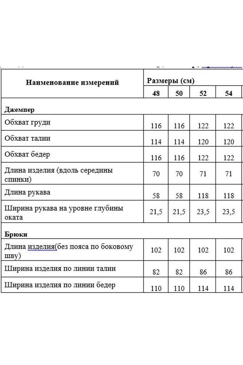 Женский осенний трикотажный серый спортивный спортивный костюм Медея и К 2057 серый 48р. - фото 4
