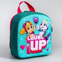 Рюкзак детский, с мигающим элементом, отдел на молнии, 'Скай и Эверест', PAW Patrol