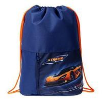 Мешок для обуви, с карманом, 470 х 330 мм, 'Оникс', МО-23, Auto orange