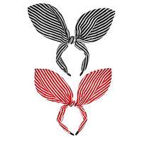 Карнавальный ободок «Полосатые ушки», цвета МИКС