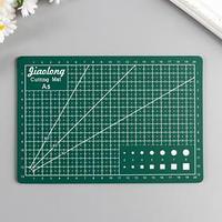 Резиновый мат для творчества формат А5 21х14,8 см толщина 3 мм