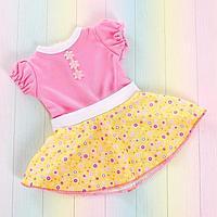 Одежда «Летнее настроение»: платье, для пупса 38-42 см