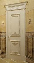Двери с патинированием из массива и шпона на заказ в Астане и Алматы