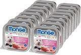 Monge Fresh 16шт по 100г с Тунцом паштет для собак Pate with Chunkies Tuna
