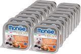Monge Fresh 16шт.по 100г с Индейкой паштет для собак Pate with Chunkies Turkey
