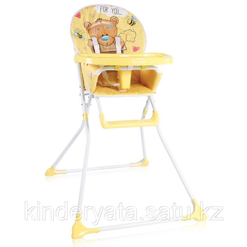 Стульчик для кормления Lorelli Cookie желтый