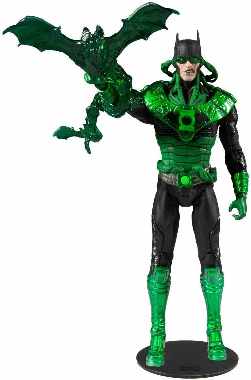 """McFarlane """"Мультивселенная DC"""" Фигурка Бэтмен-Зеленый фонарь с Земли -32, Тёмный Рыцарь Металл"""