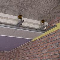 Каркасная звукоизоляция потолка Стандарт
