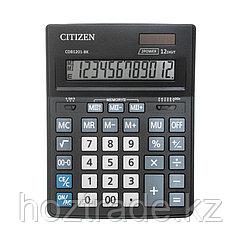 Калькулятор настольный Citizen Business Line CDB1201-BK, 12 разрядов, двойное питание, 155*205*35мм, черный