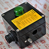 Raychem JBS-100-L-EP Соединительная коробка со светодиодом для подключения питания к одному греющему кабелю