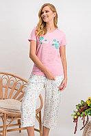 Пижама женская S / 42-44, Светло- Розовый