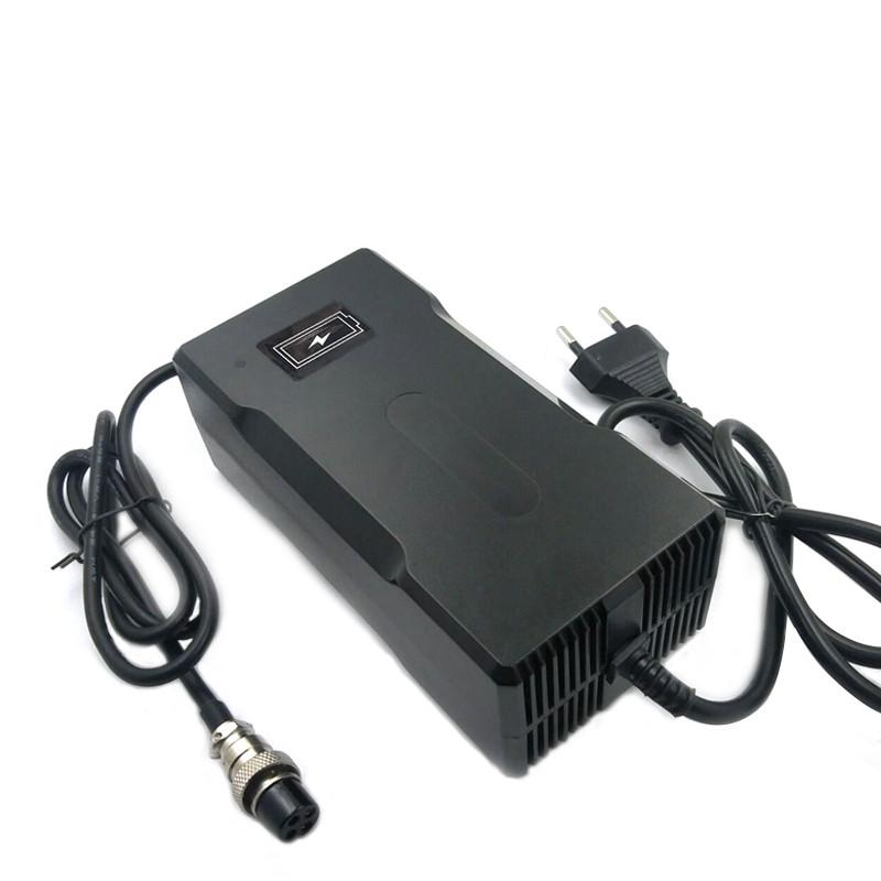73V 2A Smart Electric LifePO4 Зарядное устройство для электросамоката со светодиодной подсветкой - фото 3