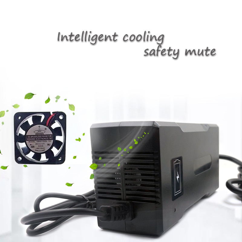 73V 2A Smart Electric LifePO4 Зарядное устройство для электросамоката со светодиодной подсветкой - фото 4