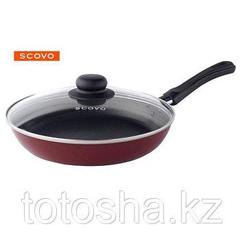 Сковорода d26 см Scovo Expert с крышкой , СЭ-029