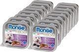 Monge Fresh 16шт. по 100г с Ягненком паштет для собак Pate with Chunkies Lamb
