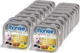 Monge Fresh 16 шт. по 100г с Курицей Паштет для собак Pate with Chunkies Chicken, фото 1
