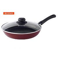 Сковорода d28 см Scovo Expert с крышкой , СЭ-030