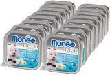 Monge Fresh 16шт.по 100г с Треской паштет для собак Pate with Chunkies Cod Fish