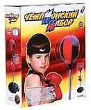 Детская боксёрская груша. Чемпионский набор для бокса высота от 80 до 146 см арт.7555B, фото 3