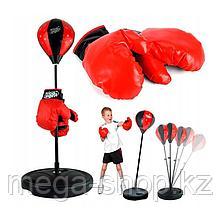 Детская боксёрская груша. Чемпионский набор для бокса высота от 80 до 146 см арт.7555B