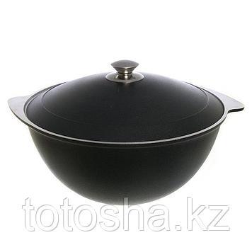 Казан для плова к70д  7л ДП (черный)