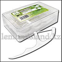 Зубочистки с нитью из пищевого пластика, 30 шт.