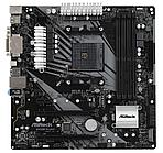 Материнская плата ASRock B450M PRO4-F Socket AM4, B450, 4xDDR4 (3200+ OC), 4xSATA3 RAID, 1xUltraM.2,