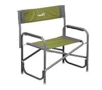 Кресло Helios Maxi директорское, серо-зелёное