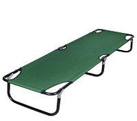 Раскладушка складная 190х55х25см, зеленая