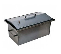 Коптильня 400*230*200 сталь 1,0мм (без гидрозатвора)