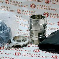 BARTEC PAP4 M40 FENEX/NASP Взрывозащищенный кабельный ввод из никелированной латуни для бронированного кабеля