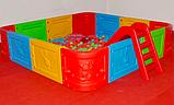 Сухой бассейн квадратный, фото 3