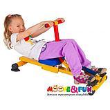 Тренажер детский механический гребной с одной рукояткой 3-8 лет, фото 2