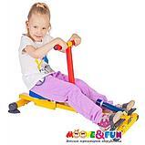 Тренажер детский механический гребной с одной рукояткой 3-8 лет, фото 3