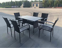 """Обеденная группа на 6 персон """"Брисбен"""" мебели-стулья"""