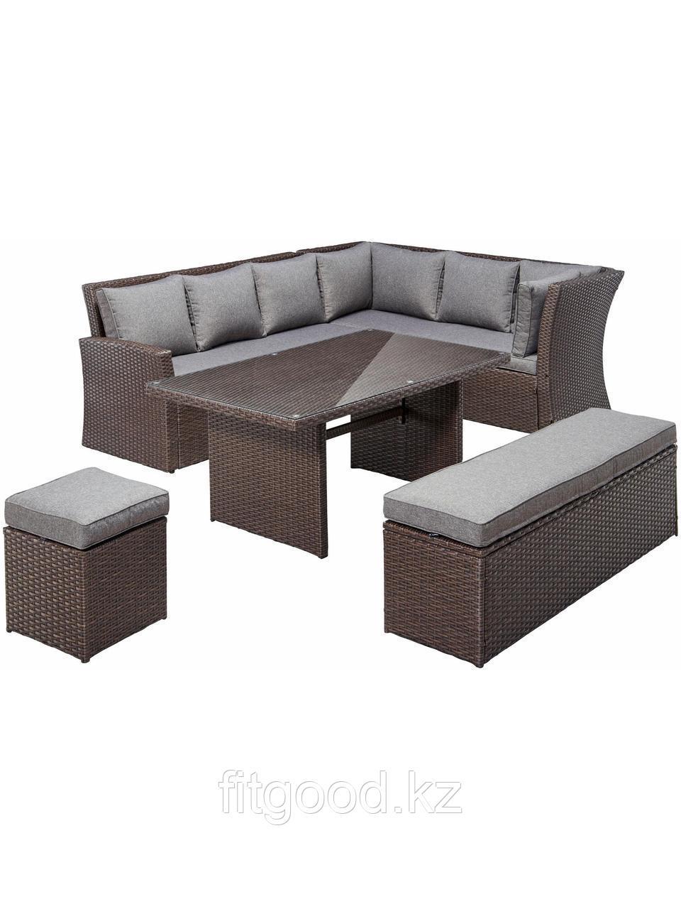 """Обеденная группа с диванами """"Рим"""" мебель-диван"""